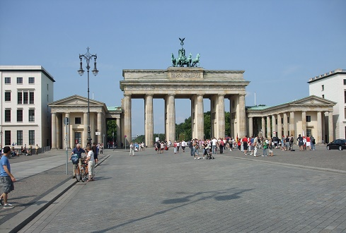 Brandenburger Tor in Berlijn Duitsland
