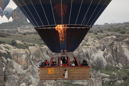 capadocie turkije ballonvaart