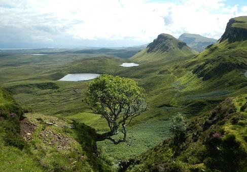 schotland natuur en bergen