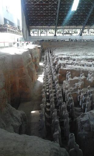 terracoota museum xian