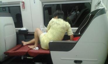 trein chongqing business class