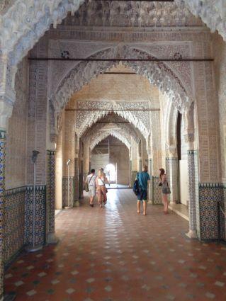 alhambra interieur nasrid paleis