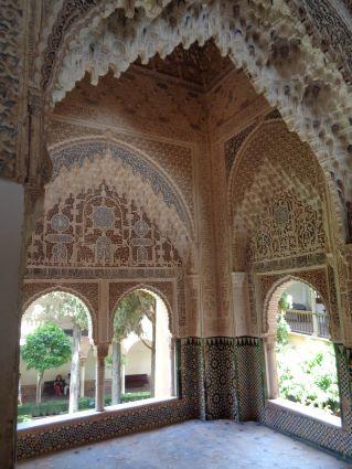 alhambra nasrid paleis mozaiek