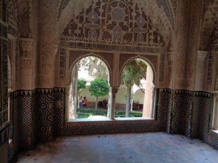 alhambra nasrid paleis