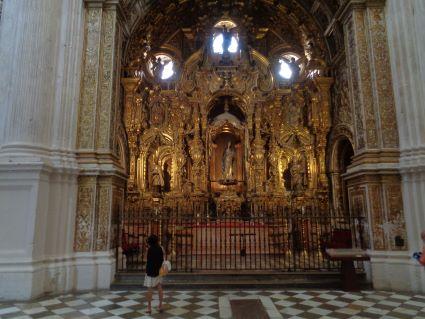 granada kathedraal mariabeeld