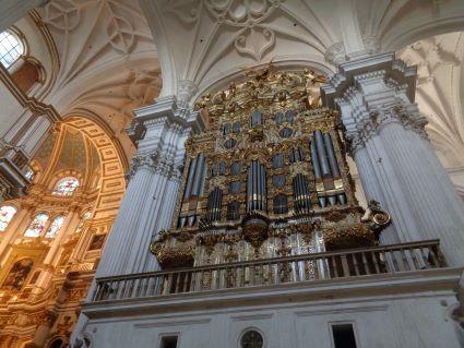 granada kathedraal orgel